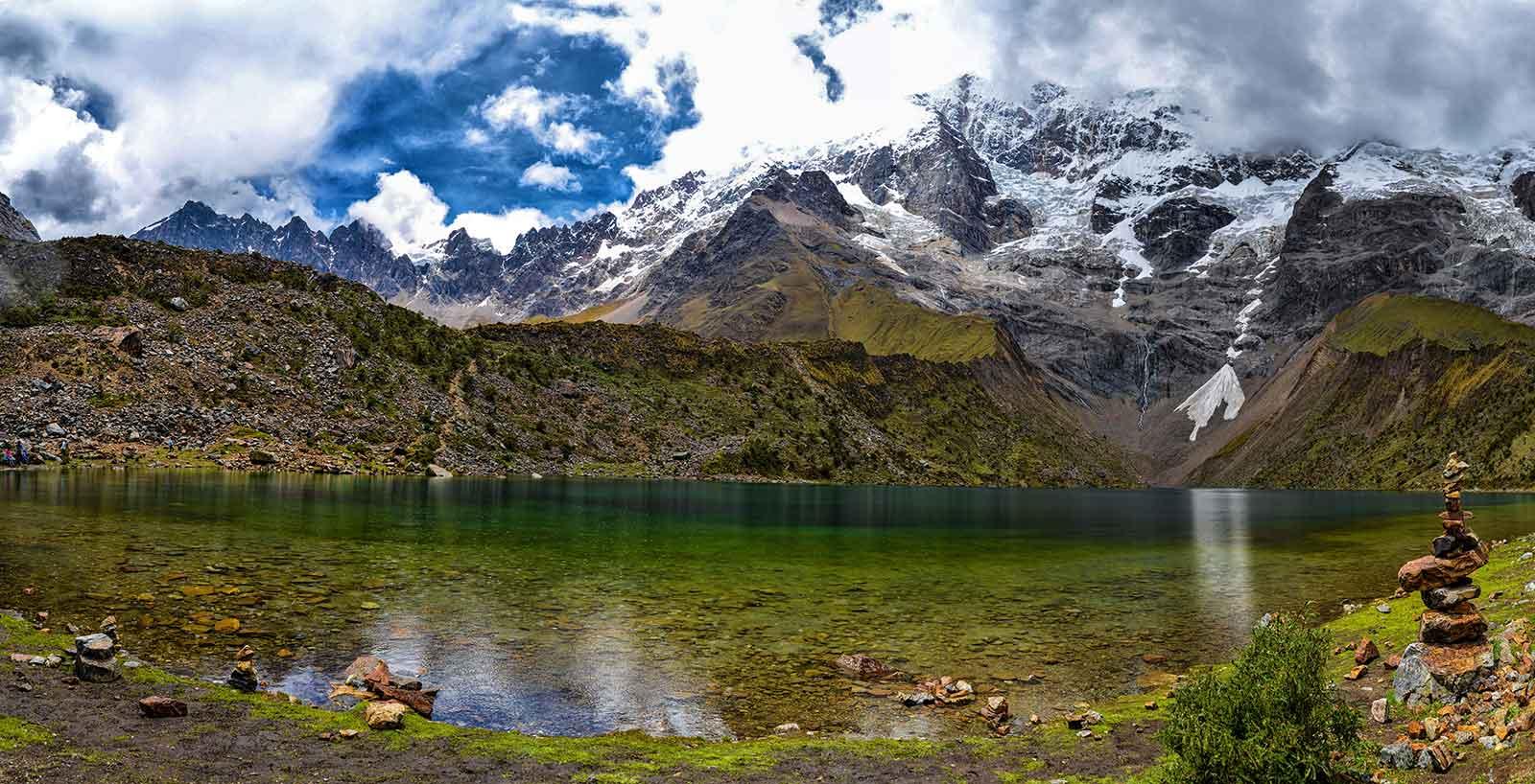 Humantay Lake in Cusco Peru