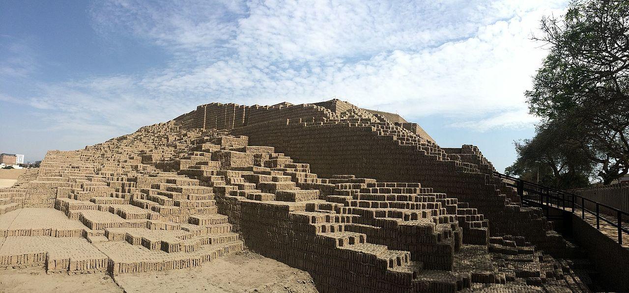 Huaca Pucllana in Lima Peru