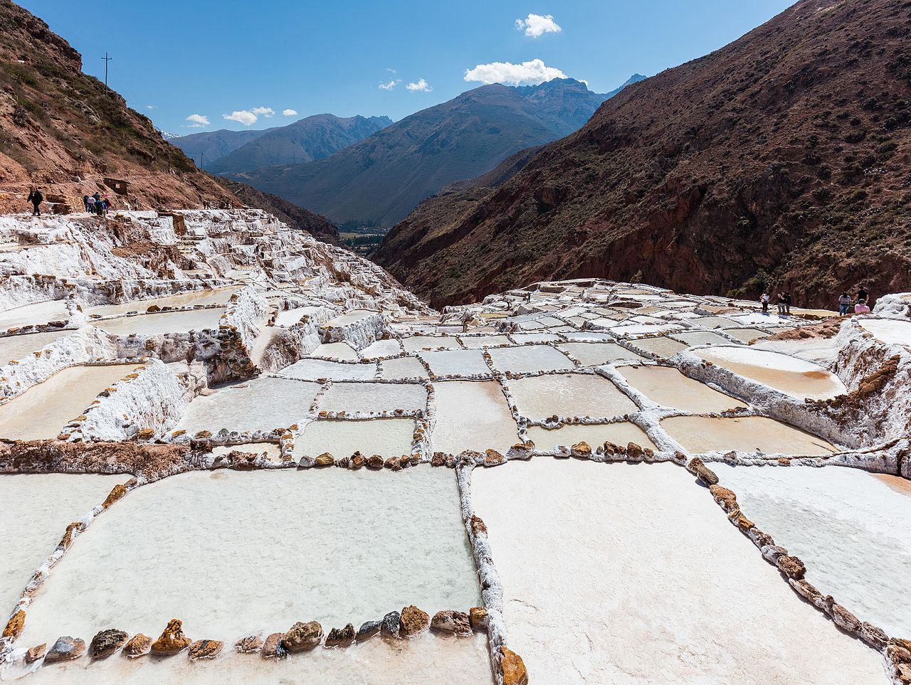 Salt Ponds of Maras in Cuzco