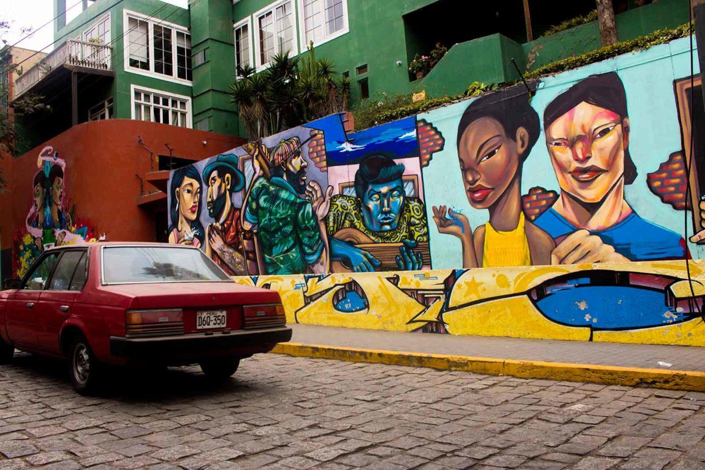 Mural Barranco Lima Peru