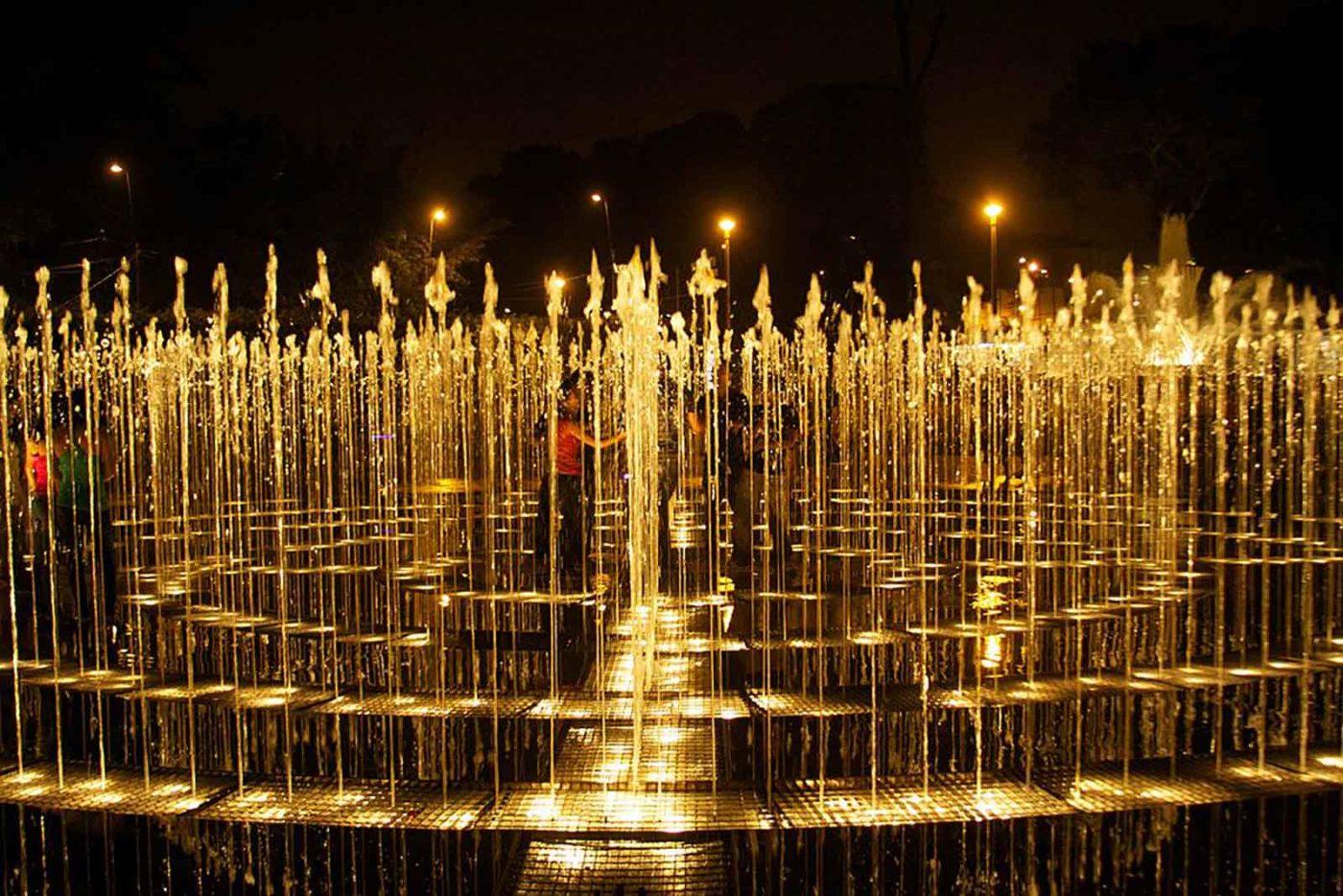 Magic Water Circuit in Lima Peru