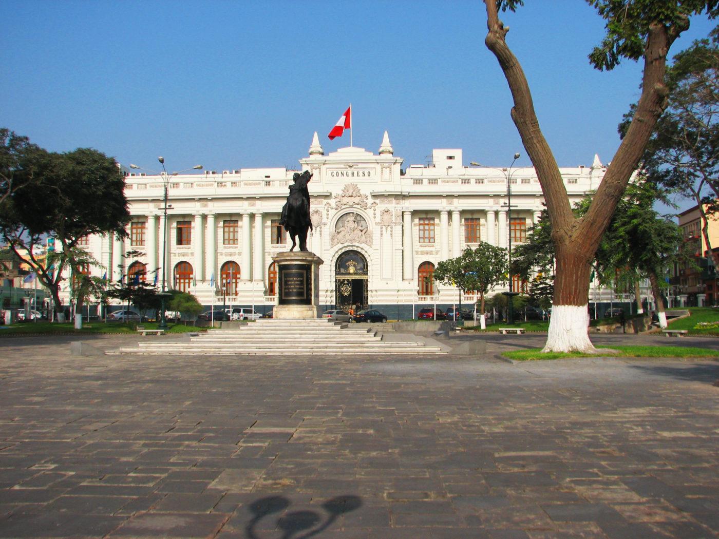 Congreso de la República en Lima Perú