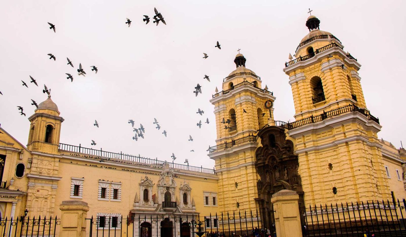 San Francisco Convent in Lima Peru