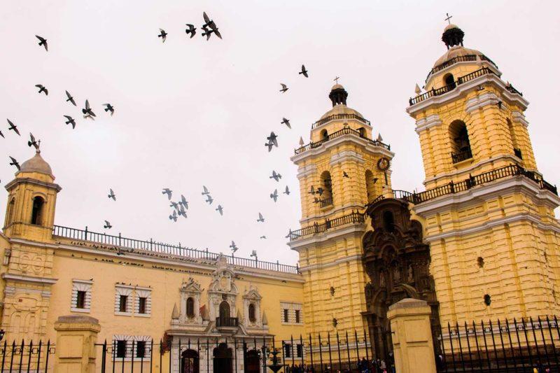 San Francisco Convent in Lima Peru