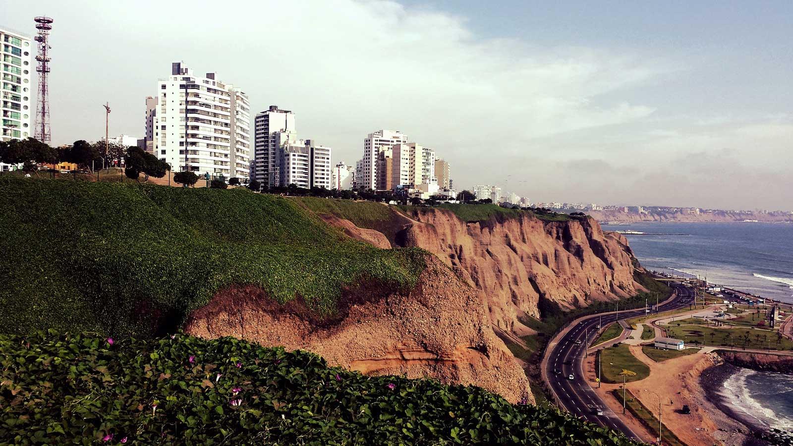 Lima Peru landscape